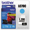 Brother LC79C Extra High Yield Cyan Ink Cartridge