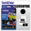 Brother LC65HYBK High Yield Black Ink Cartridge
