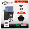 Remanufactured 51629A (29) Ink, 720 Page-Yield, Black