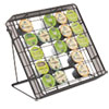Safco® Stand-up Hospitality Organizer, 25 Compartments, 8 1/4w x 11 1/2d x 10 1/2h, Bk SAF3276BL