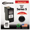 Innovera M4640 Compatible Remanufactured Black Ink Cartridge