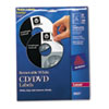 Avery Dennison Laser CD/DVD Labels