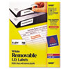 Avery® Removable Multi-Use Labels, 1 x 2 5/8, White, 750/Pack AVE6460