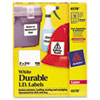 Avery® Permanent ID Labels w/TrueBlock Technology, Laser, 2 x 2 5/8, White, 750/Pack AVE6578