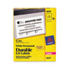 Avery® Permanent ID Labels w/TrueBlock Technology, Laser, 5 x 8 1/8, White, 100/Pack AVE6579