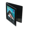 "Avery® Framed View Heavy-Duty Binder w/Slant Rings, 11 x 8 1/2, 1/2"" Cap, Black AVE68050"