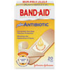BAND-AID® Antibiotic Adhesive Bandages, Assorted Sizes, 20/Box - 5570
