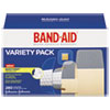 BAND-AID® Sheer/Wet Adhesive Bandages, Assorted Sizes, 280/Box - 4711
