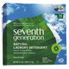 Seventh Generation® Natural Powder Laundry Detergent, Free & Clear, 70 Loads, 112 oz Box SEV22824