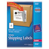 Avery® Full-Sheet Labels with TrueBlock Technology, Laser, 8 1/2 x 11, White, 100/Box AVE5165