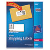 Avery® Shipping Labels with TrueBlock Technology, Laser, 2 x 4, White, 250/Pack AVE5263