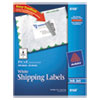 Avery® Shipping Labels with TrueBlock Technology, Inkjet, 3 1/2 x 5, White, 100/Pack AVE8168