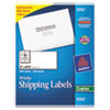 Avery® Copier Shipping Labels, 2 x 4 1/4, White, 1000/Box AVE5352