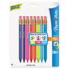 Paper Mate® Mates Mechanical Pencils, 1.3 mm, Assorted, 8/Pack PAP1862168