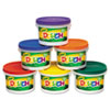 Modeling Dough Bucket, 3 lbs, Assorted, 6 Buckets/Set