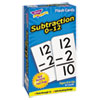 <strong>TREND®</strong><br />Skill Drill Flash Cards, 3 x 6, Subtraction