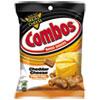 Combos® Combos Baked Snacks, 6.3 oz Bag, Cheddar Cheese Pretzel, 12/Carton CBO42005