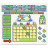 Carson-Dellosa Publishing FUNky Frog Calendar Bulletin Board Set CDP110205