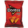 Doritos® Nacho Cheese Tortilla Chips, 1.75 oz Bag, 64/Carton LAY44375