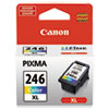 Canon® 8280B001 (CL-246XL) ChromaLife100+ High-Yield Ink, Tri-Color CNM8280B001