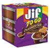 Jif To Go® Spreads, Chocolate Silk, 1.5 oz Cup, 8/Box SMU24112