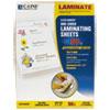 """C-Line® Cleer Adheer Self-Adhesive Laminating Film, 2 mil, 9"""" x 12"""", 50/Box CLI65004"""