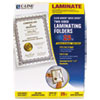"""C-Line® Quick Cover Laminating Pockets, 12 mil, 9 1/8"""" x 11 1/2"""", 25/Pack CLI65187"""