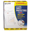 "C-Line® Standard Weight Polypropylene Sheet Protector, Non-Glare, 2"", 11 x 8 1/2, 50/BX CLI62038"