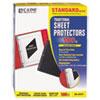 C-Line® Traditional Polypropylene Sheet Protector, Standard Weight, 11 x 8 1/2, 100/BX CLI03213