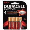 Duracell® Quantum Alkaline Batteries with Duralock Power Preserve Technology, AA, 4/Pk DURQU1500B4Z