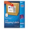 Avery® Full-Sheet Labels with TrueBlock Technology, Inkjet, 8 1/2 x 11, White, 100/Box AVE8465