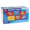 Nabisco® Mini Snack Packs, 1 oz, Variety Pack, 40 per Carton NFG827558