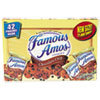 Kellogg's® Famous Amos Cookies, Chocolate Chip, 2 oz Snack Pack, 42 Packs/Carton KEB827554