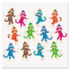 "Sock Monkeys Classic Accents Variety Pack, 6"", 36 Pieces"