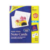 Avery® Note Cards for Inkjet Printers, 4 1/4 x 5 1/2, Matte White, 60/Pack w/Envelopes AVE8315
