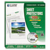 "C-Line® Sheet Protectors, Clear, Polypropylene, 2"", 11 x 8 1/2, 100/BX CLI62617"