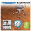 ES Robbins® Foldable 36x48 Rectangle Chair Mat, Task Series for Hard Floors ESR130082
