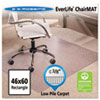 "ES Robbins® 46x60 Rectangle Chair Mat, Multi-Task Series AnchorBar for Carpet up to 3/8"" - 128371"