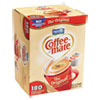 Coffee-mate® Liquid Coffee Creamer, Original, 0.375 oz Mini-Cups, 180 per Box NES753032