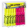HI-LITER® Desk Style Highlighter, Chisel, Assorted Colors, 24/Pack AVE98189