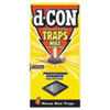 d-CON® Mouse Glue Trap, Plastic, 4 Traps/Box, 12 Boxes/Carton - REC78642