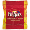 Folgers® Ground Coffee Fraction Packs, Traditional Roast, 2oz, 42/Carton FOL63006