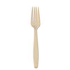 SOLO® Cup Company Sweetheart Guildware Polystyrene Forks, Champagne, 100/Box SCCGBX5FK