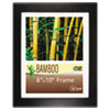 NuDell™ Bamboo Frame, 8 x 10, Black NUD14181