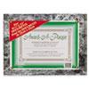 NuDell™ Award-A-Plaque Document Holder, Acrylic/Plastic, 10-1/2 x 13, Black NUD18815M