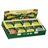 Bigelow® Green Tea Assortment, Individually Wrapped, Eight Flavors, 64 Tea Bags/Box BTC30568