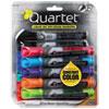 Quartet EnduraGlide Dry Erase Marker, Chisel Tip, Assorted Colors, 12/Set QRT500120M