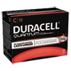 Duracell® Quantum Alkaline Batteries with Duralock Power Preserve Technology, C, 72/Carton DURQU1400