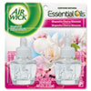 Air Wick® Scented Oil Refill, Calming - Magnolia & Cherry Blssm.67oz, Pink, 2/PK, 6 PK/CT RAC80095CT