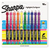 <strong>Sharpie®</strong><br />Liquid Pen Style Highlighters, Chisel Tip, Assorted Colors, 10/Set